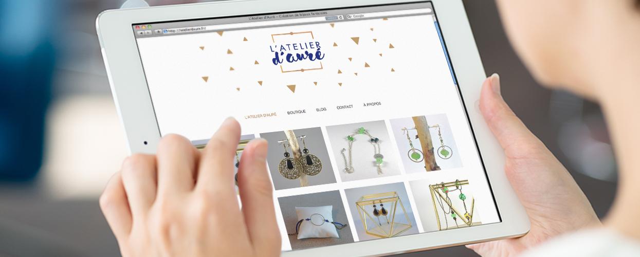 http://www.latelierdaure.fr Création de bijoux fantaisies fait main