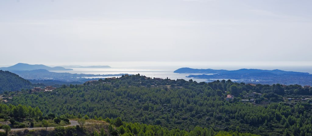 Panorama sur Toulon, La Seyne, Six Fours et Sanary
